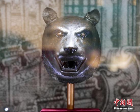 资料图:圆明园十二生肖兽首铜像。中新社发 苏阳 摄 图片来源:CNSPHOTO