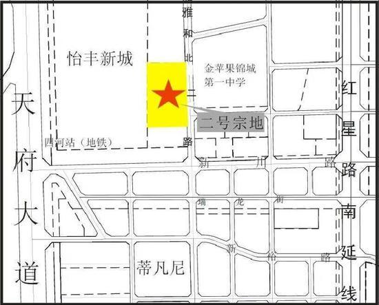 成都土拍首现成交楼面价超2万/㎡地块 位于高新南区