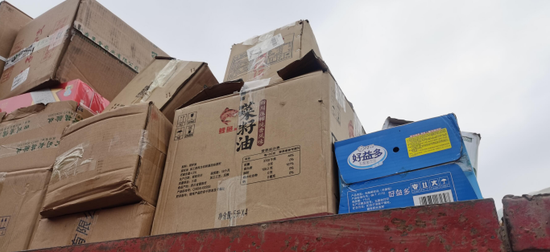 巴中集中销毁32吨、货值460余万过期假冒伪劣食品药品