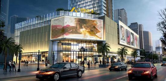 仁和广场营业面积约43000平方,共7层。