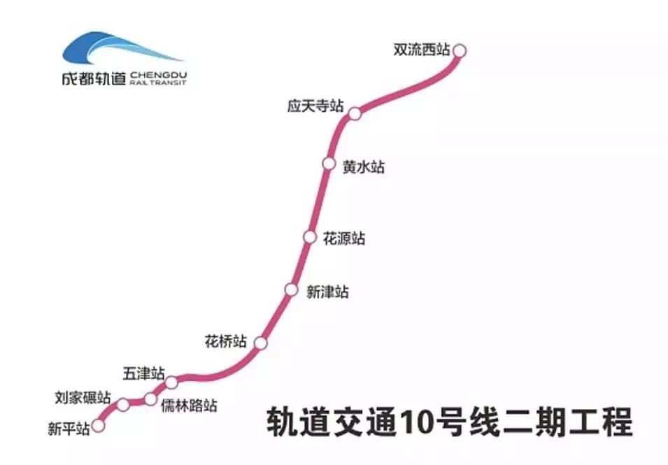 开通倒计时!成都地铁10号线二期全线车站移交