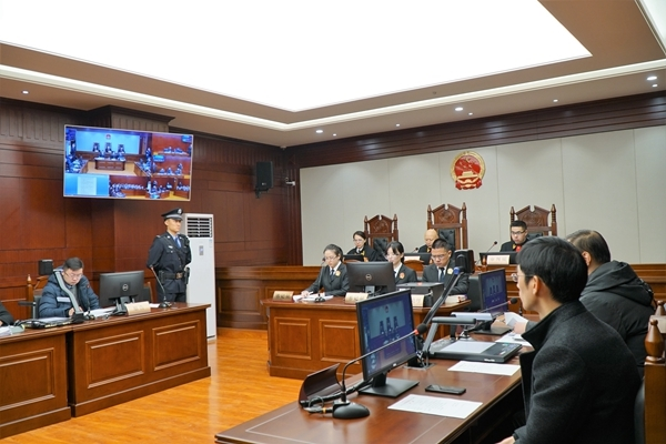 庭审现场,天府新区(四川自贸区法院)供图