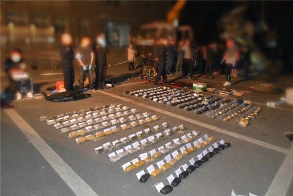 德阳警方破获50公斤毒品案 跨境毒品通道被摧毁