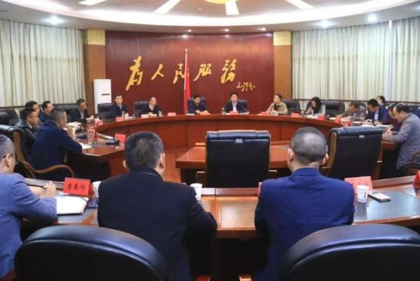 蓬溪县县级领导班子调整 熊琳同志任县委副书记