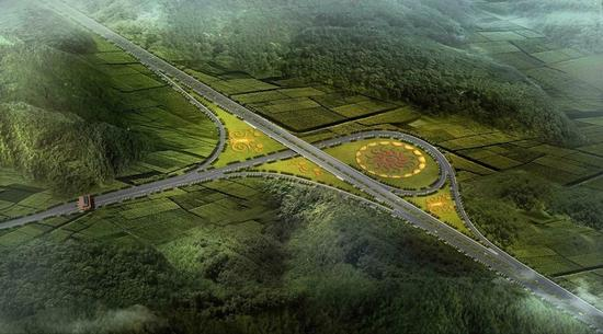 四川17个交通项目集中开工 宜攀 乐西高速来了图片