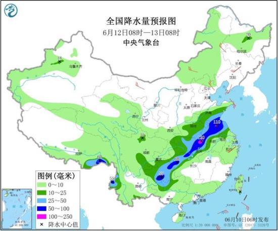 江南东部等地仍有较强降雨 东北华北等地多阵雨或雷阵雨