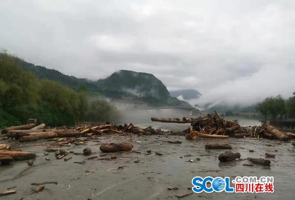 阿坝暴雨初步灾情统计:11个乡镇1.27万人受灾