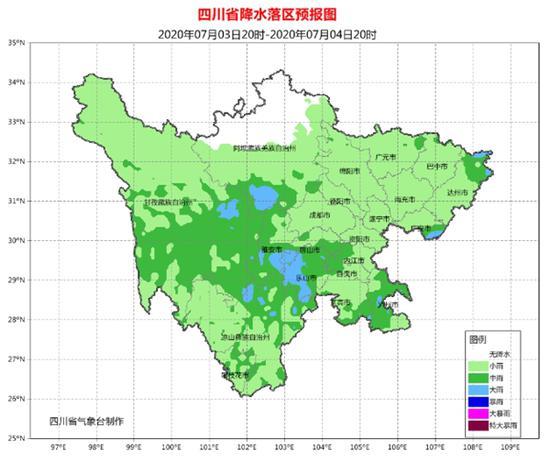 高考即将到来 本周末四川各地都有雨来降温