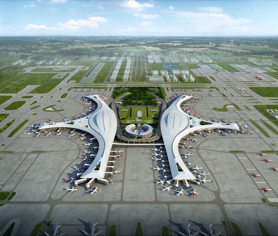 天府国际机场空管工程通过自验收