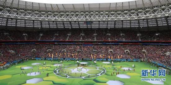 文明看球,才能让世界杯更精彩。 (图片来源: 新华网)