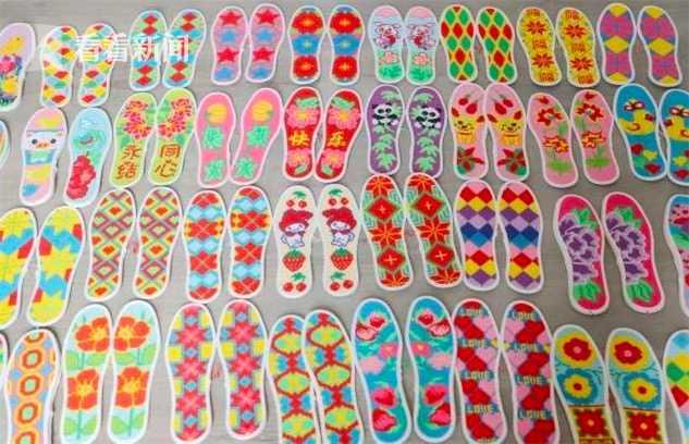 泪目!烈士母亲一年绣出43双福气鞋垫送消防员
