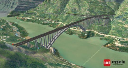 又一超级工程来了国内单体投资最大高速路 沿江高速效果图亮相