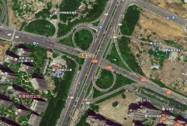 成渝立交桥改造 预计上半年建成通车