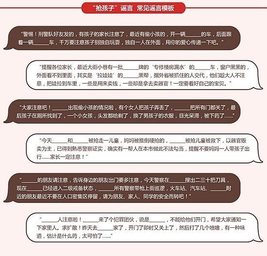 警方提醒广大网民:网络空间非法外之地,请广大网民不制谣、不信谣、不传谣。