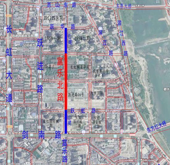 """富樂北路中段開建 綿陽多條""""斷頭路""""將打通,涉及這些道路"""