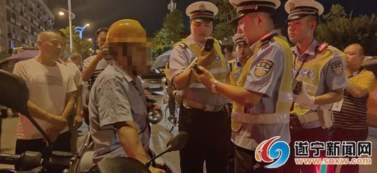 """一个晚上 遂宁又有5名""""红脸""""司机被查"""