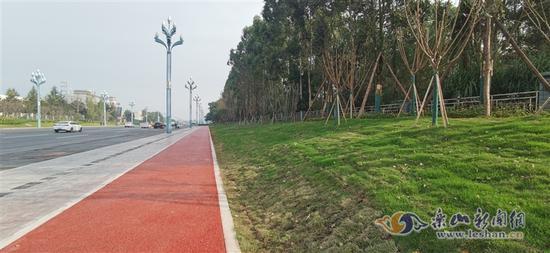 高速乐山城区连接线工程最新进度来了