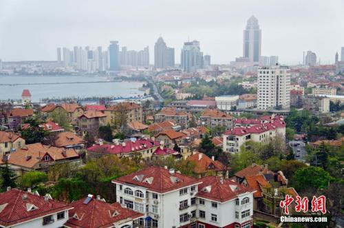 资料图:山东青岛市。 卢大中 摄 图片来源:ctpphoto