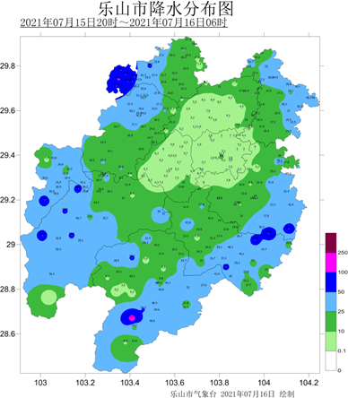 樂山解除暴雨黃色預警!最新雨情報告發布