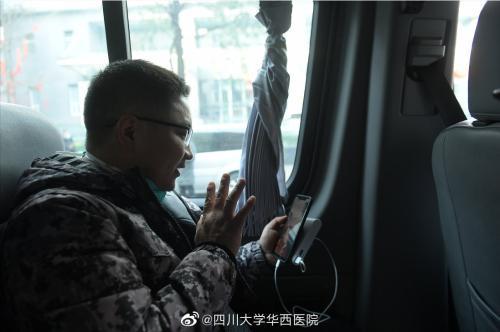 武汉前线日志丨在关键时刻为国家和社会贡献力量