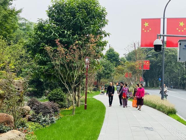 百年望江楼公园成为市民新打卡地:拆了绿化围墙 24小时不打烊
