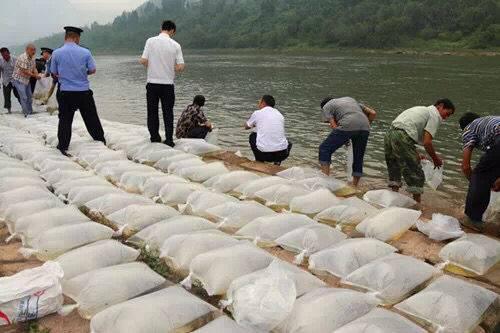 禁渔期间非法电鱼 巴中男子放生15000尾鱼苗补过