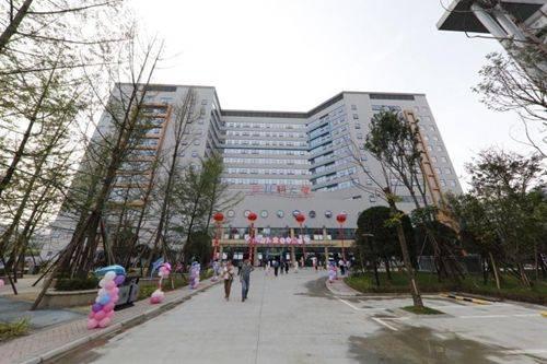 建筑面积9万余平米 四川最大的儿科大楼亮相成都