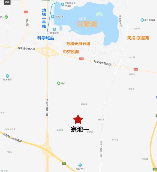 9989元/㎡!天府新区科学城以南157亩宅地溢价成交