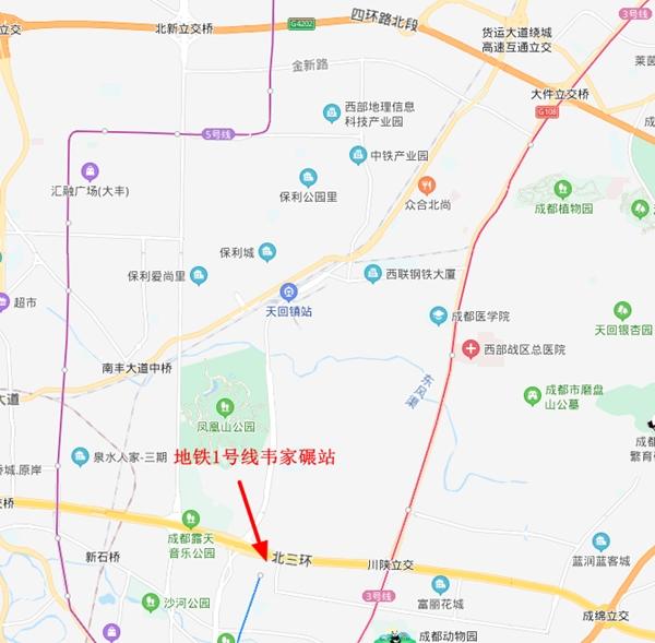 成都地铁1号线北端能否向大丰延伸?官方:规划28号线