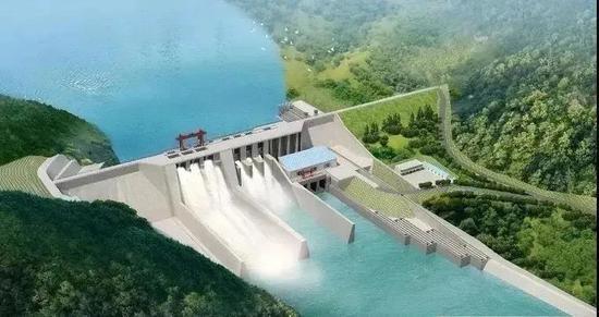 四川青峪口水库工程有重大进展 快来看