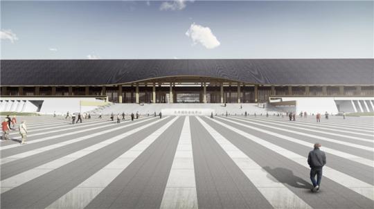 成都最洋气的会议中心封顶了 年内将建成国家级会客厅