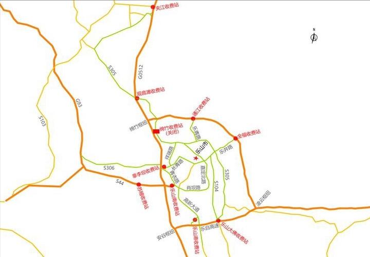 成乐高速即将交通管制 绕行路线在这里