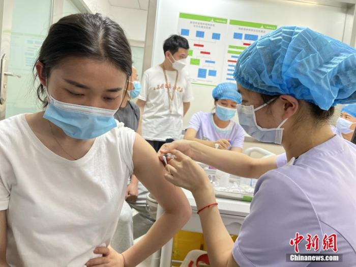 截至4月1日全國累計報告接種新冠疫苗12661.6萬劑次