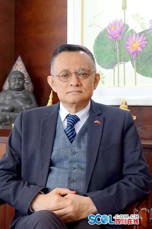 泰国驻成都总领事 吴威德(资料图)
