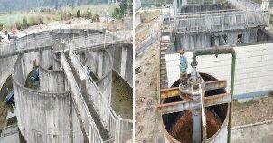 竹园镇污水处理厂设施设备长期闲置