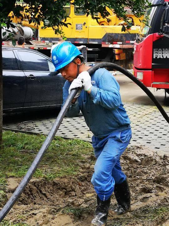 德阳广汉受灾区域全面恢复供电