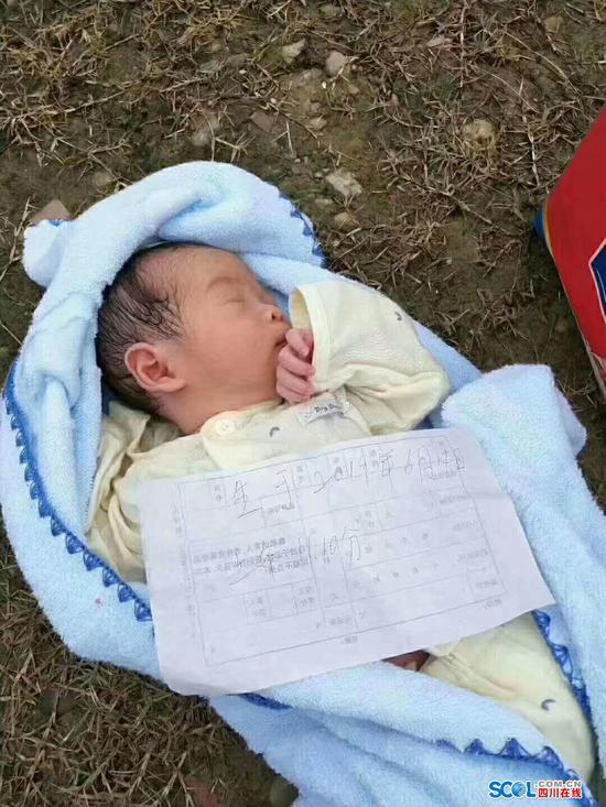 真狠心!绵阳一男婴仅出生10天就被遗弃