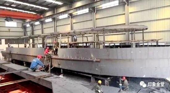 沱江通航项目12月试运营 年底可乘船夜游淮州新城
