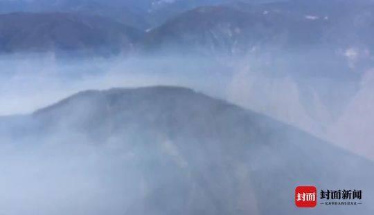 四川凉山木里火场出现复燃 空中灭火如何使用?