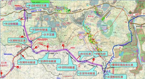 攀大高速四川段将于12月6日开通 提前试跑探路来了!