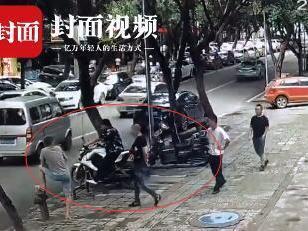 賽摩拖行20多米 緝毒民警冒死擒嫌疑人