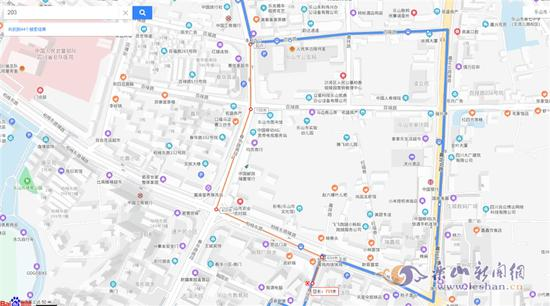 注意!乐山公交203路27日起作临时调整
