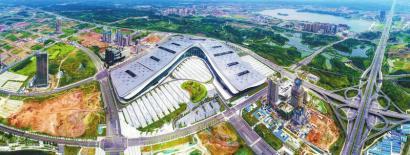 位于天府新区核心规划区的中国西部博览城
