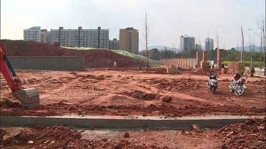淮州新城四大新居工程建设有新进展
