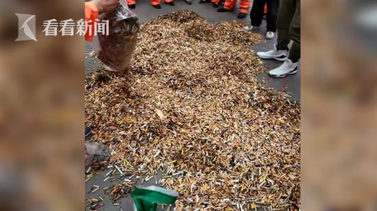 最后,希望广大市民朋友们,也要提高自己的意识,勿将烟头随意乱扔。