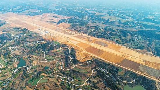 """阆中机场有望今年""""起飞"""" 2022年春节运营"""