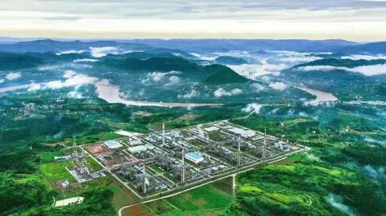 元坝气田产气超200亿立方米