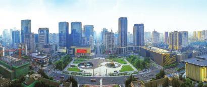 城市中心广场——天府广场