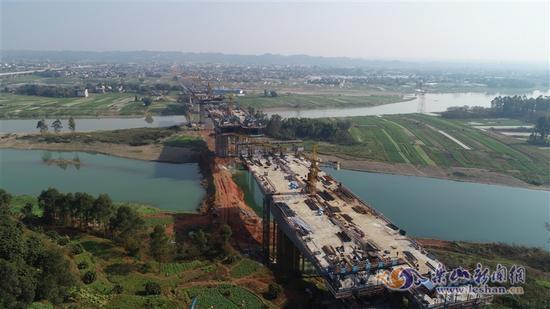 省道308线改线工程预计10月底完工通车