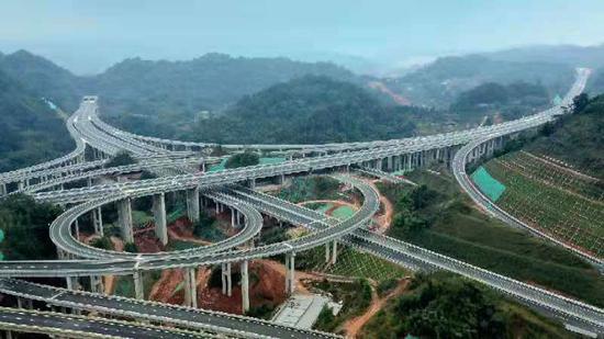 2020年底四川公路里程数全国第一